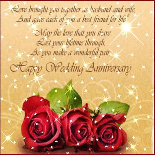 Best Greetings Anniversary Wishes For Friends