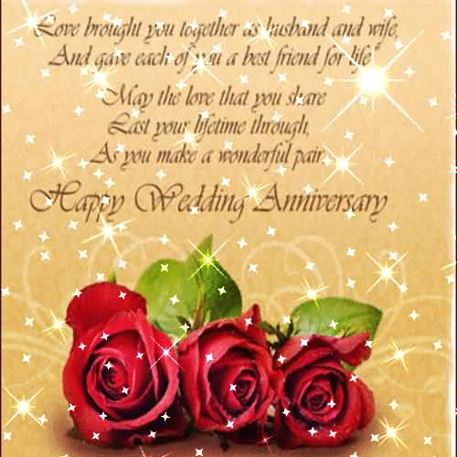 Best Greetings Anniversary Wishes For Husband
