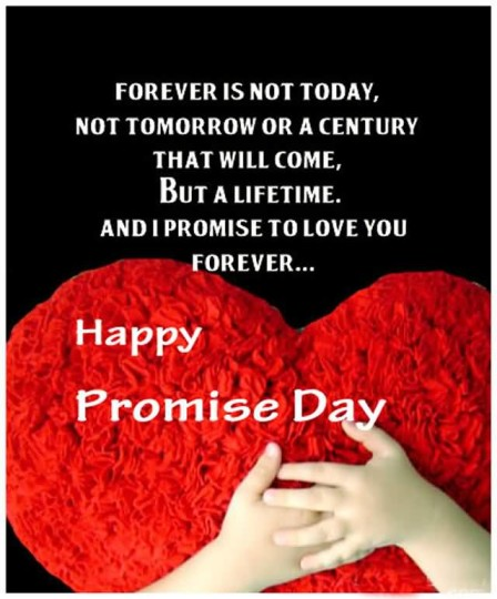 Best Happy Promise Day Lovely Wallpaper