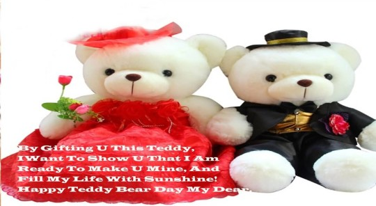 Best Happy Teddy Bear Day Sweet Wallpaper