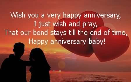Best message anniversary wishes for husband nicewishes