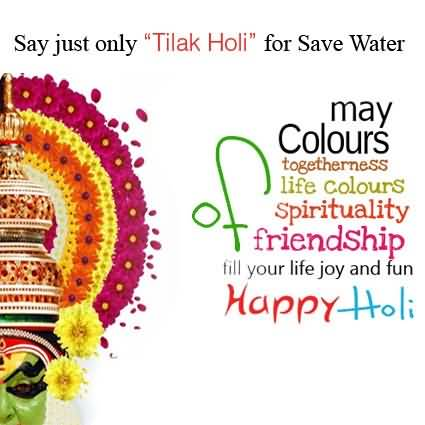 Best Message Happy Holi Wish
