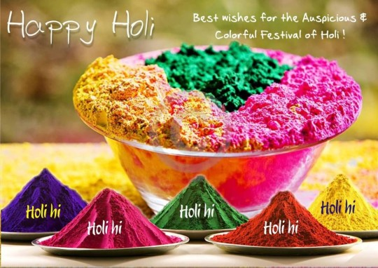 Best Wishes For The Auspicious Colorful Festival Of Holi
