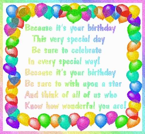 Brilliant Birthday Quotes For Kids