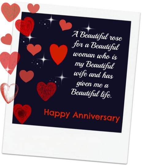Brilliant Message Anniversary Wishes For  Wife