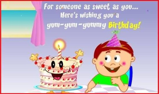 Cute Birthday Quotes For Kids Wallpaper