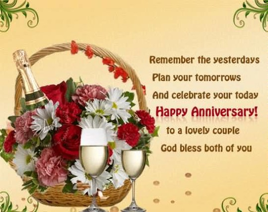 Fabulous Greetings Anniversary Wishes For Lovely Friends