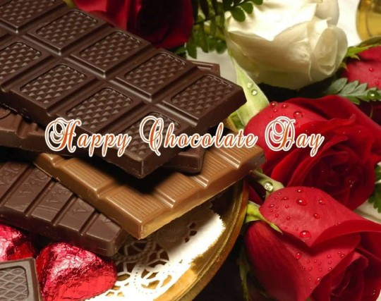 Fabulous Happy Chocolate Day Wallpaper