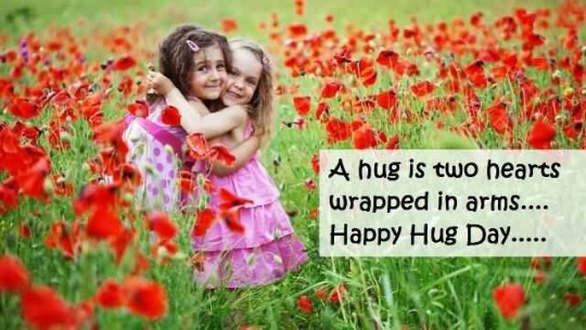 Fabulous Happy Hug Day Cute Image