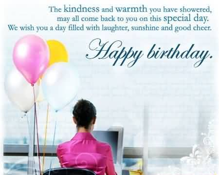 Inspire Birthday Wishes For Employee E Card