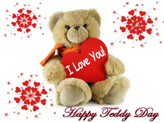Latest Happy Teddy Day Fabulous Image