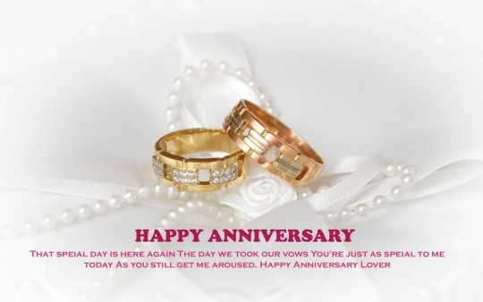 Lovely Anniversary Wishes For Husband Image