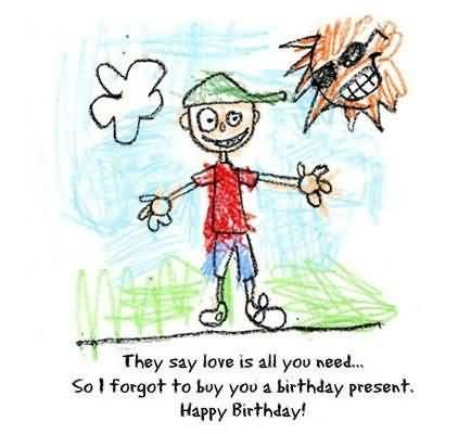 Lovely Birthday Quotes For Kids Scrap