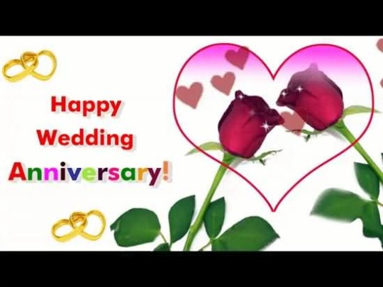 Lovely E-Card Anniversary Wishes For Couple