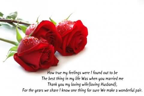 Lovely E-Card Anniversary Wishes For Husband