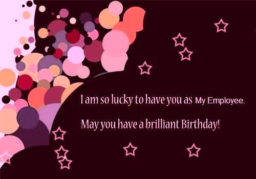 Lovely E-Card Birthday Wishes For Employee (2)