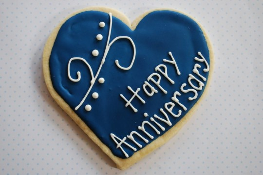 Lovely Graphic Anniversary Wishes For  Wife