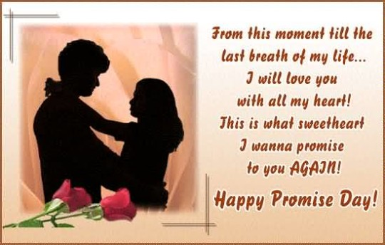 Lovely Happy Promise Day Best Greetings