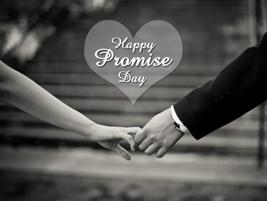 Lovely Happy Promise Day Nice Wallpaper