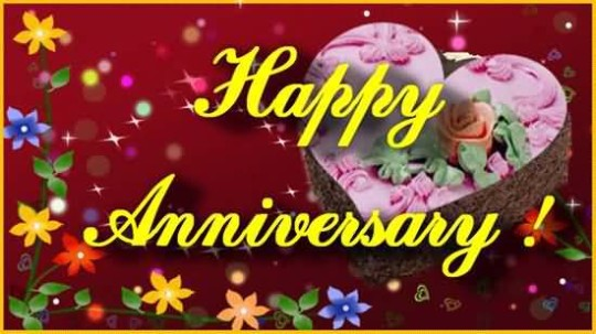 Lovely Image Anniversary Wishes For Friends