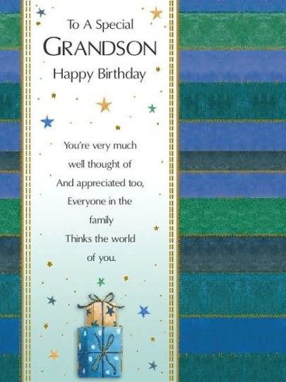 Mind Blowing Birthday Quotes For Grandson