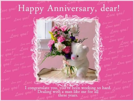 Nice Anniversary Wishes For Friends Picture