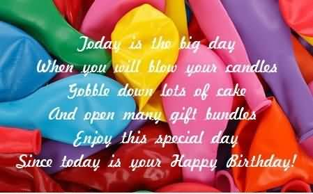 Nice Birthday Quotes For Kids Image