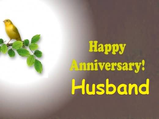 Nice Graphic Anniversary Wishes For Awesome Husband