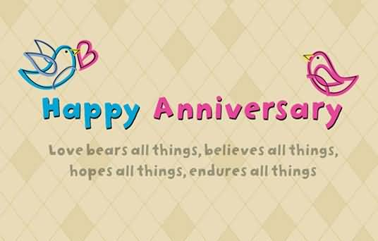 Nice Graphic Anniversary Wishes For Husband