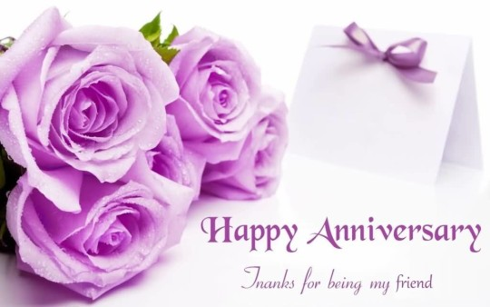 Nice Greetings Anniversary Wishes For Friends