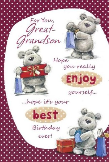 Nice Greetings Birthday Quotes For Grandson