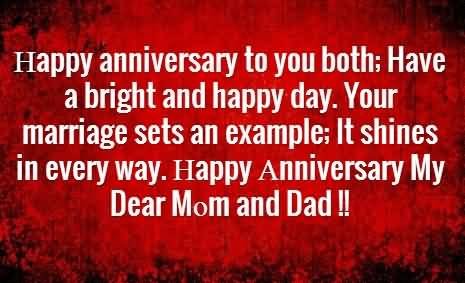 Nice Message Anniversary Wishes For Parents Wallpaper