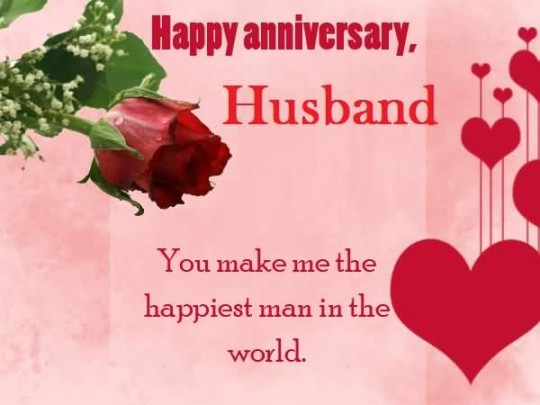 Romantic anniversary wishes for husband greetings nicewishes