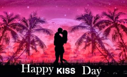 Romantic Happy Kiss Day Image