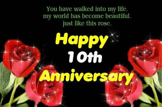 Superb 10th Anniversary Wishes For Husband Wallpaper