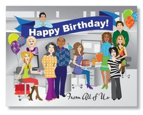 Superb E-Card Birthday Wishes For Employee