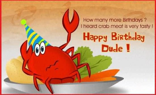 Lobster Birthday Cake Weird