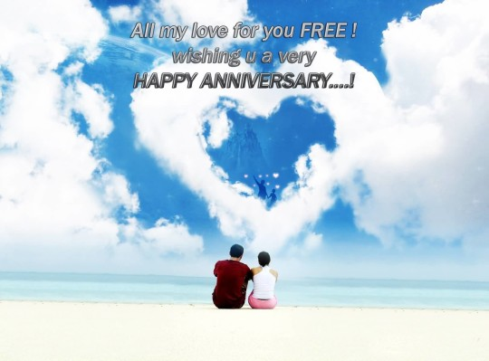 Sweet Anniversary Wishes For Friends Image