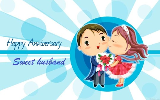 Sweet Anniversary Wishes For Husband E-Card