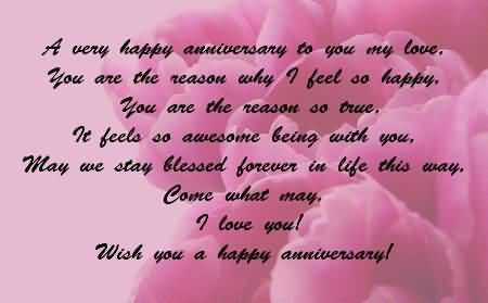 Sweet Anniversary Wishes For Husband Wallpaper