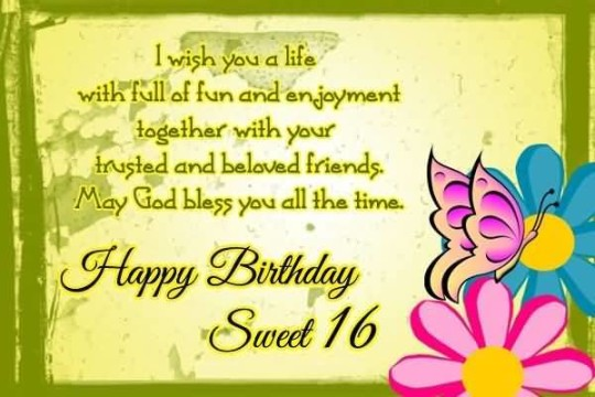 Sweet Image Birthday Quotes