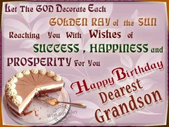 Ultimate Birthday Quotes For Grandson