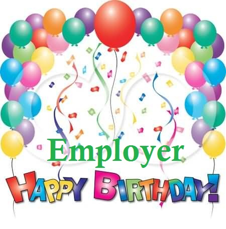 Unique Birthday Wishes For Employer E-Card