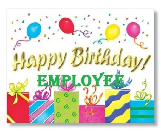 Unique E Card Birthday Wishes For Employee
