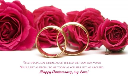 Unique Greetings Anniversary Wishes For  Wife