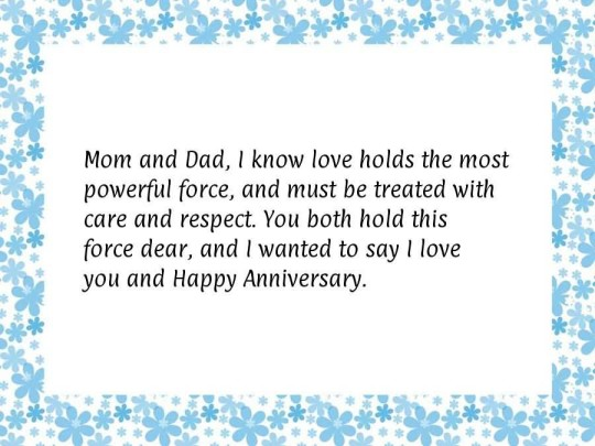 Wonderful Message Anniversary Wishes For Parents