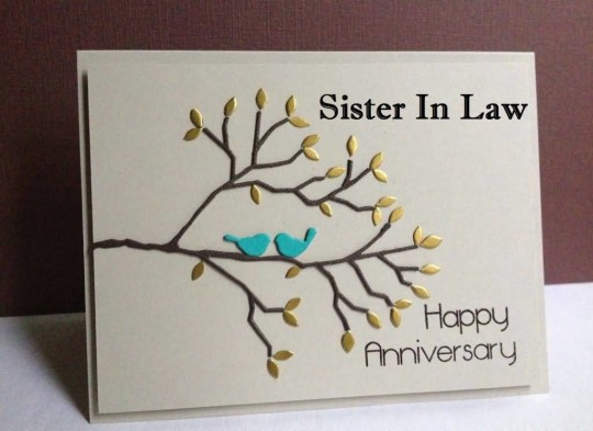Amazing E-Card Anniversary Wishes For Sister In Law