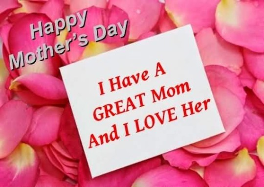 Amazing Happy Mother's Day Greetings