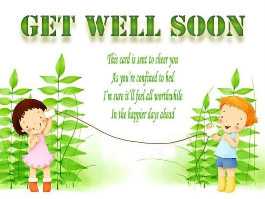 Amazing Message Get Well Soon Picture