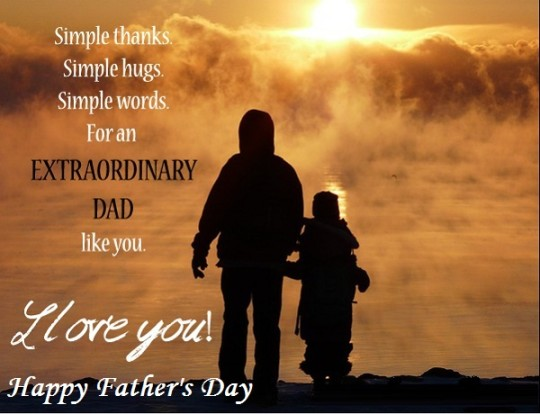 Amazing Message Happy Father's Day Image